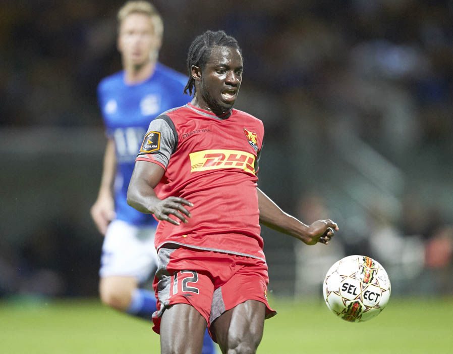 Ghanaian winger Ernest Asante scores in Nordsjaelland hard-fought win in Danish top-flight