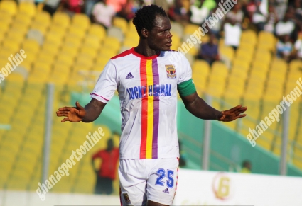 Hearts of Oak captain Inusah Musah calls on club fans to fill Cape Coast Stadium