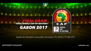 Gabon show their CAF credentials at AFCON 2017 draw
