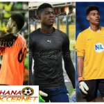 FEATURE: Top SIX U20 goalkeepers who could solve Black Stars goalkeeping problems in the near future