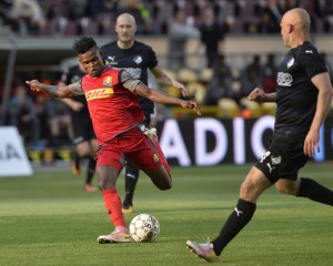 VIDEO: Watch Godsway Donyoh's super strike for Nordsjaelland in stalemate against Brondby