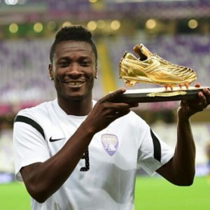 Ghana captain Asamoah Gyan targets goal king crown in Dubai