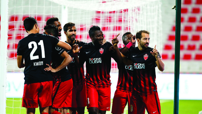 Asamoah Gyan tasks Al Ahli mates to maintain winning habit