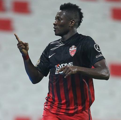 Ghana talisman Asamoah Gyan limps off in Al Ahli Asian Champions League defeat