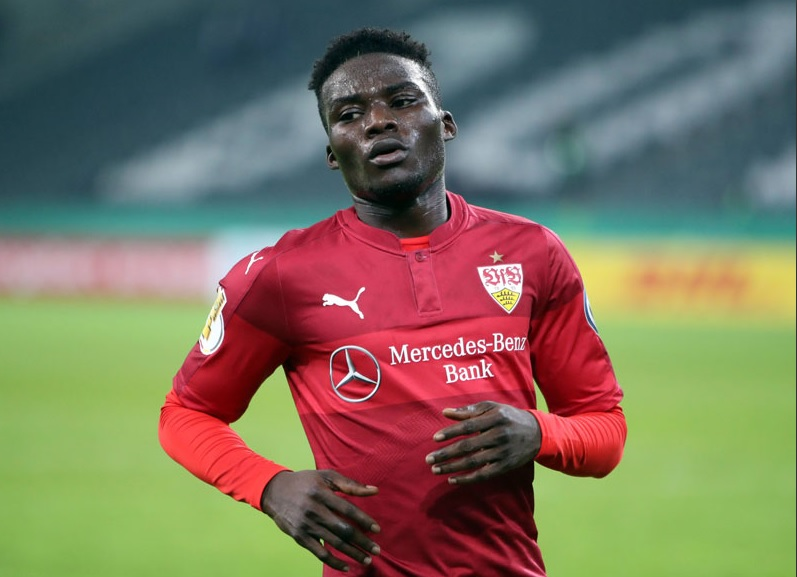 Ghanaian kid Hans Sarpei gets praise from Stuttgart boss Wolf after impressive debut