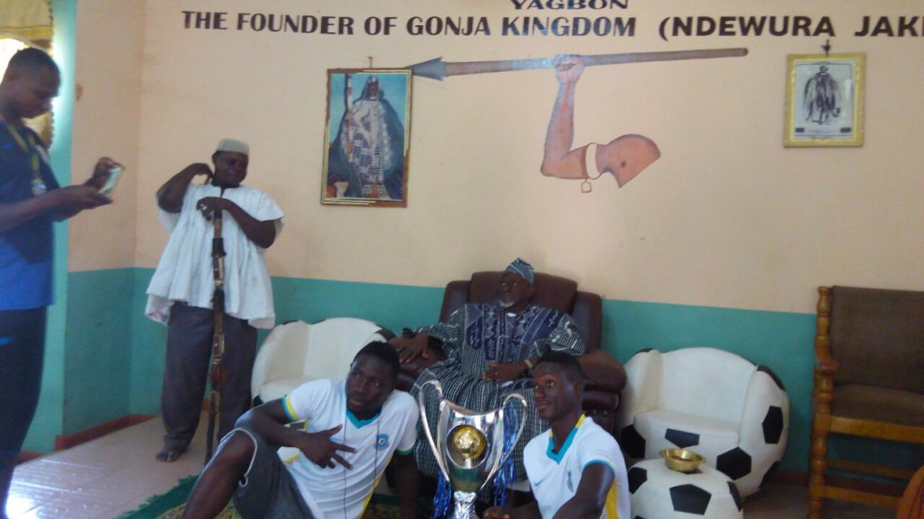 Founder of Gonjaland Yagbonwura Jakpa congratulates Wa All Stars, assures them of support to conquer Africa