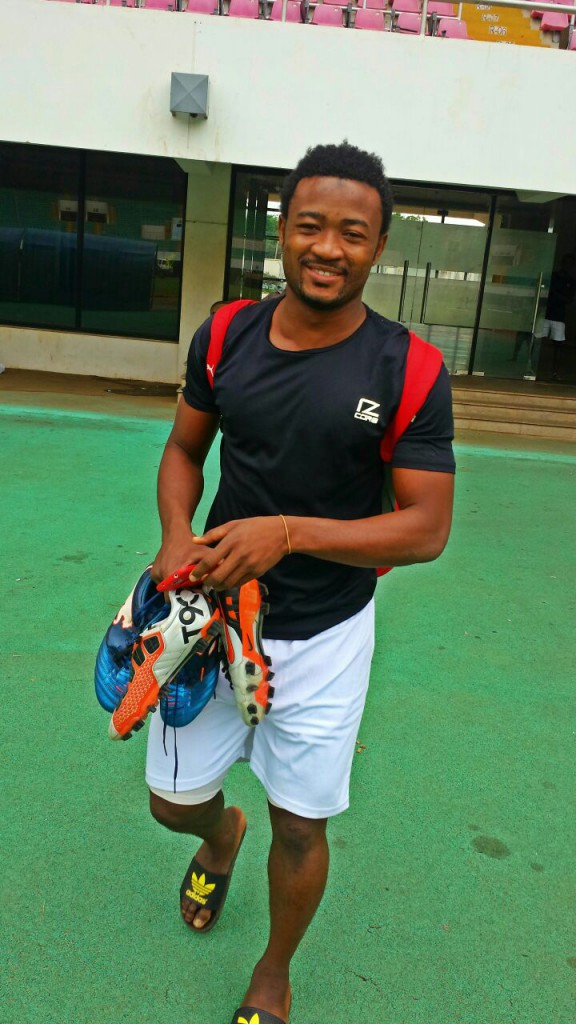 Elmina Sharks target Ali Tanko on the bill of Great Olympics