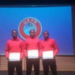 Ghanaian referees Issaka Afful, Kwasi Brobbey and Rahman Fallalu excel in UEFA refereeing course