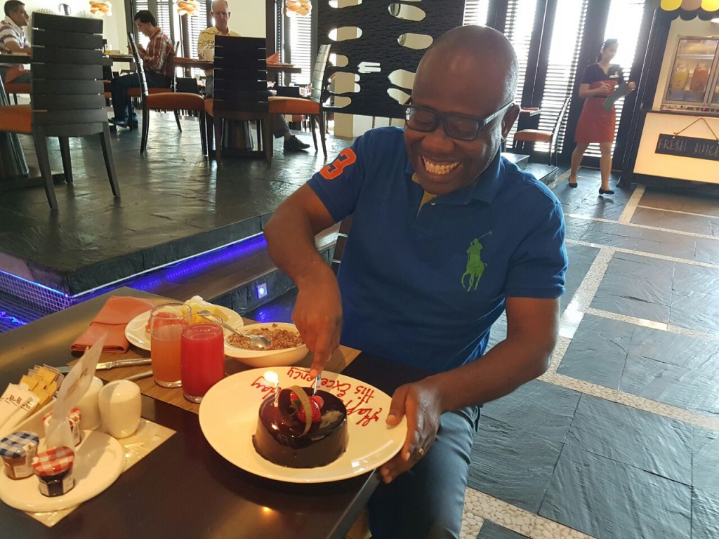 FIFA President Gianni Infantino extends birthday wishes to Kwesi Nyantakyi at forty-seven