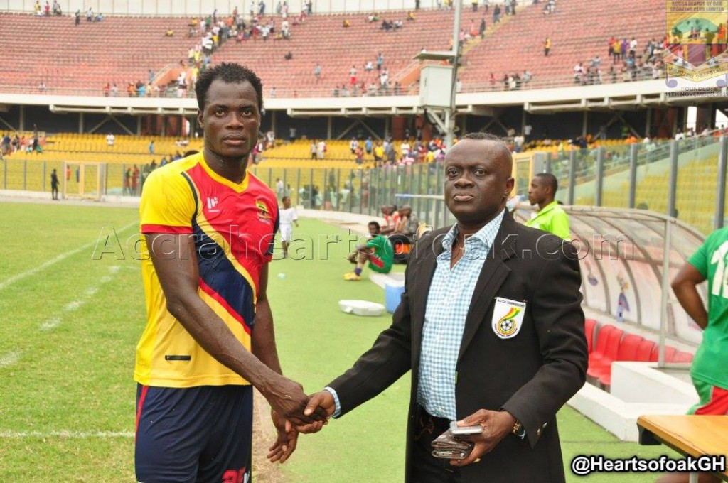 Hearts of Oak defender Inusah Musah wants to move to the Belgian league