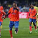 Kevin Boateng scores sensational acrobatic finish for Las Palmas in Villarreal reverse in La Liga
