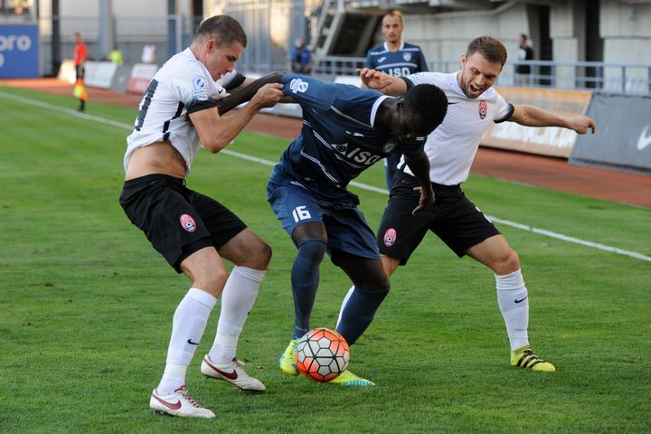 Ghanaian striker Kwame Karikari grabs consolation goal for Stal in Ukrainian Premier League debut