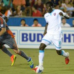 Kwadwo Poku sees red in Miami FC 2-1 home win over New York Cosmos