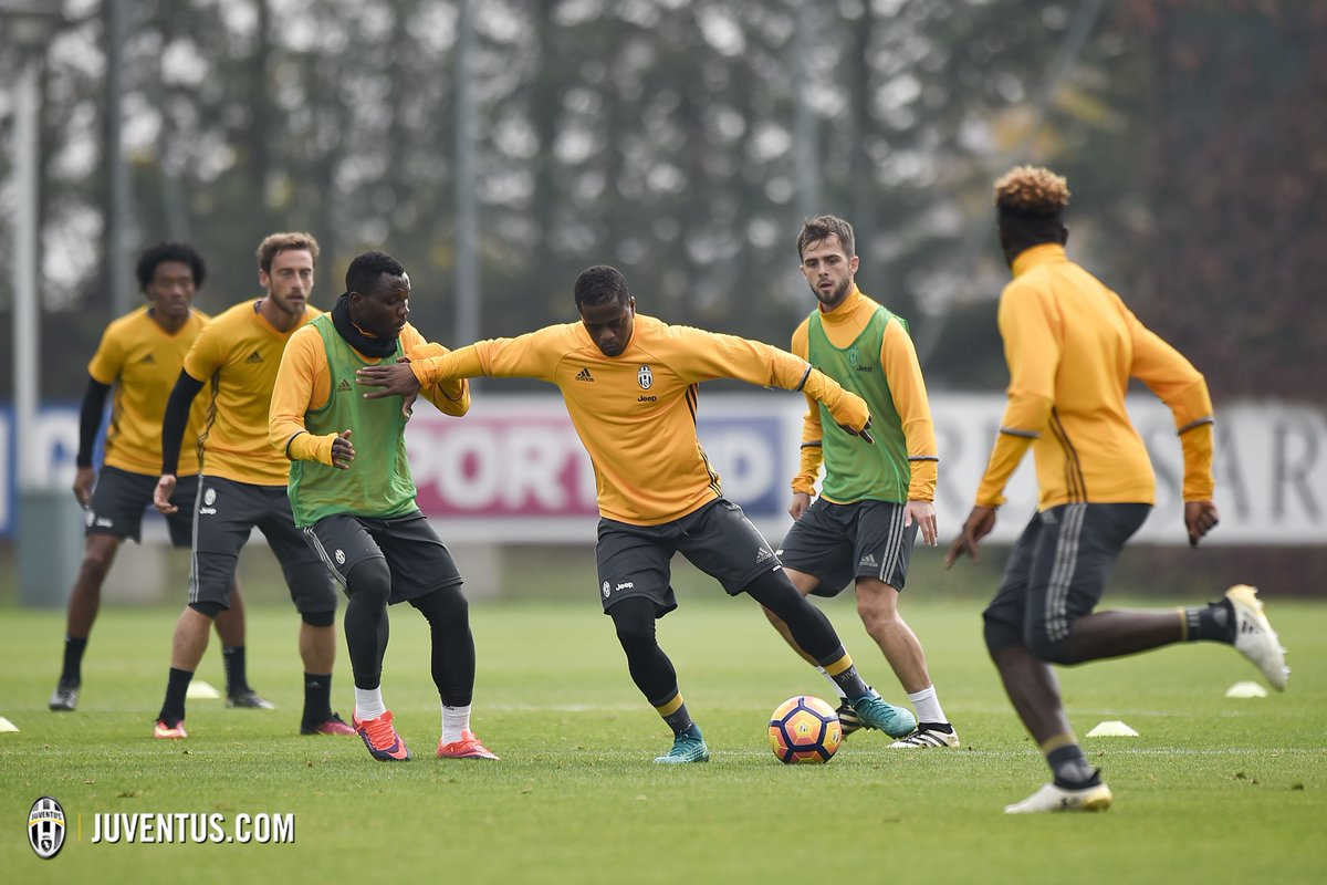 VIDEO: Kwadwo Asamoah trains with Juventus squad after quicker recovery