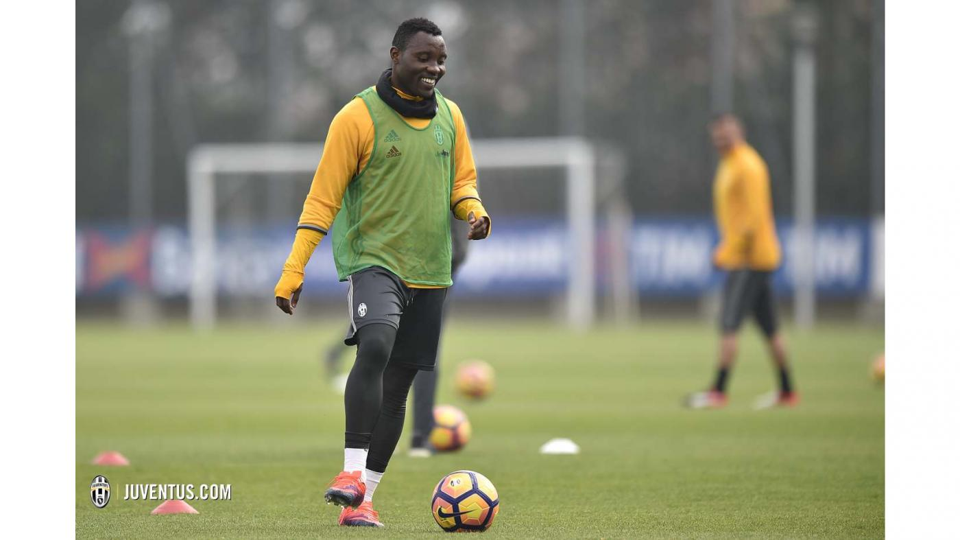Kwadwo Asamoah could make comback against Sampdoria in Serie A on Wednesday