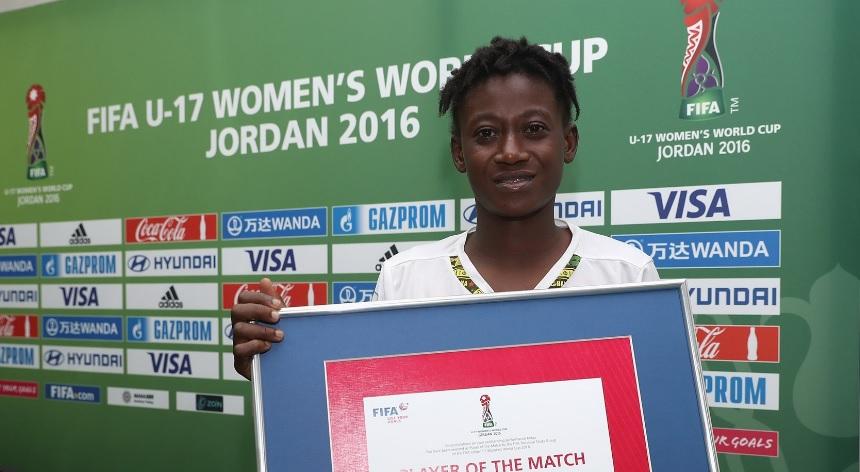 Winger Adizatu Mustapha wins Player of the Match as Black Maidens stun USA