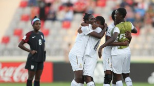 PHOTOS: Black Maidens shock USA to keep hope alive in FIFA 17 Women's World Cup