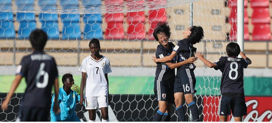 VIDEO: Watch Black Maidens 5-0 drubbing to Japan at FIFA U17 WWCup