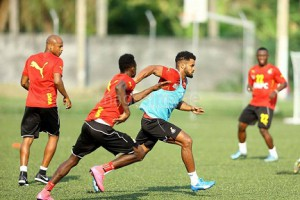 Ghana defender Ofosu-Ayeh starts training this week to hand Ghana massive boost ahead of Egypt cracker