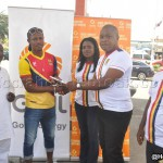 Hearts of Oak Player of the Season Mustapha Essuman gets cash prize from club's sponsor GOIL