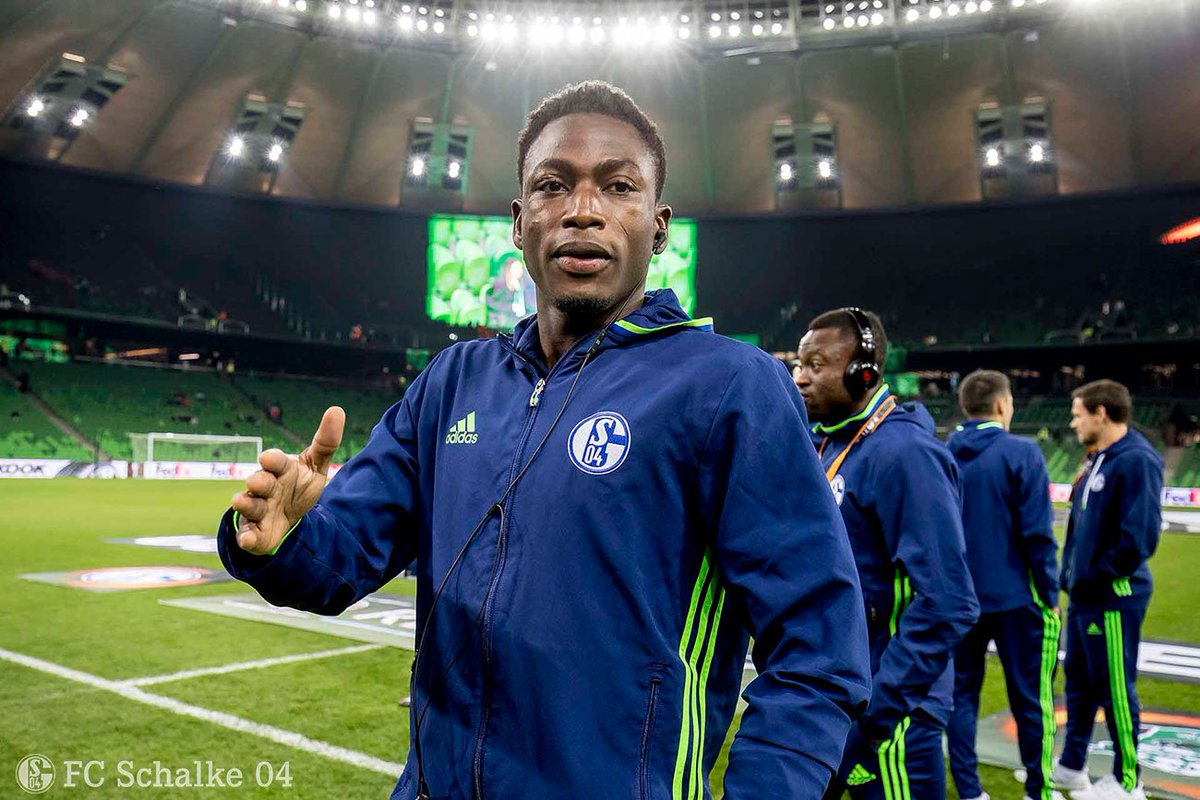 Video: Ghana defender Baba Rahman celebrates with his Schalke 04 team mates after latest victory