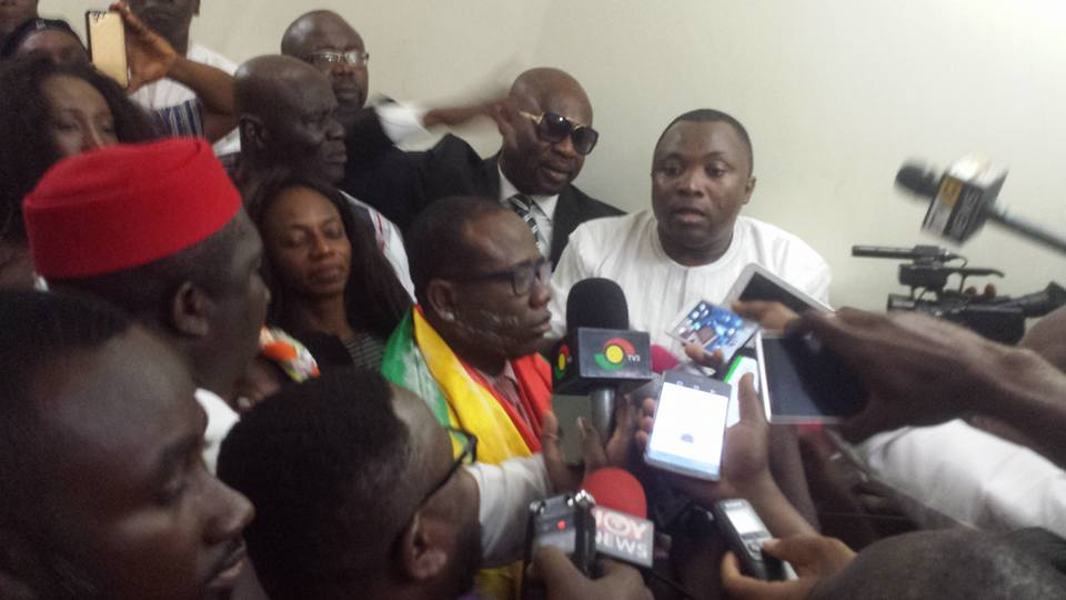 VIDEO: Kwesi Nyantakyi gets hero's welcome after FIFA Council election triumph