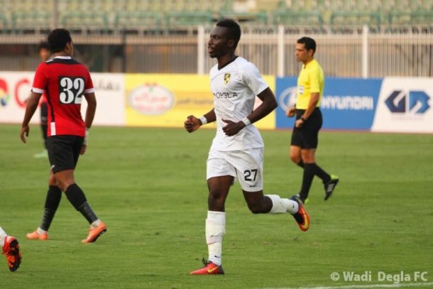 VIDEO: Watch Samuel Afum's impressive strike for Wadi Degla in the Egyptian Premier League