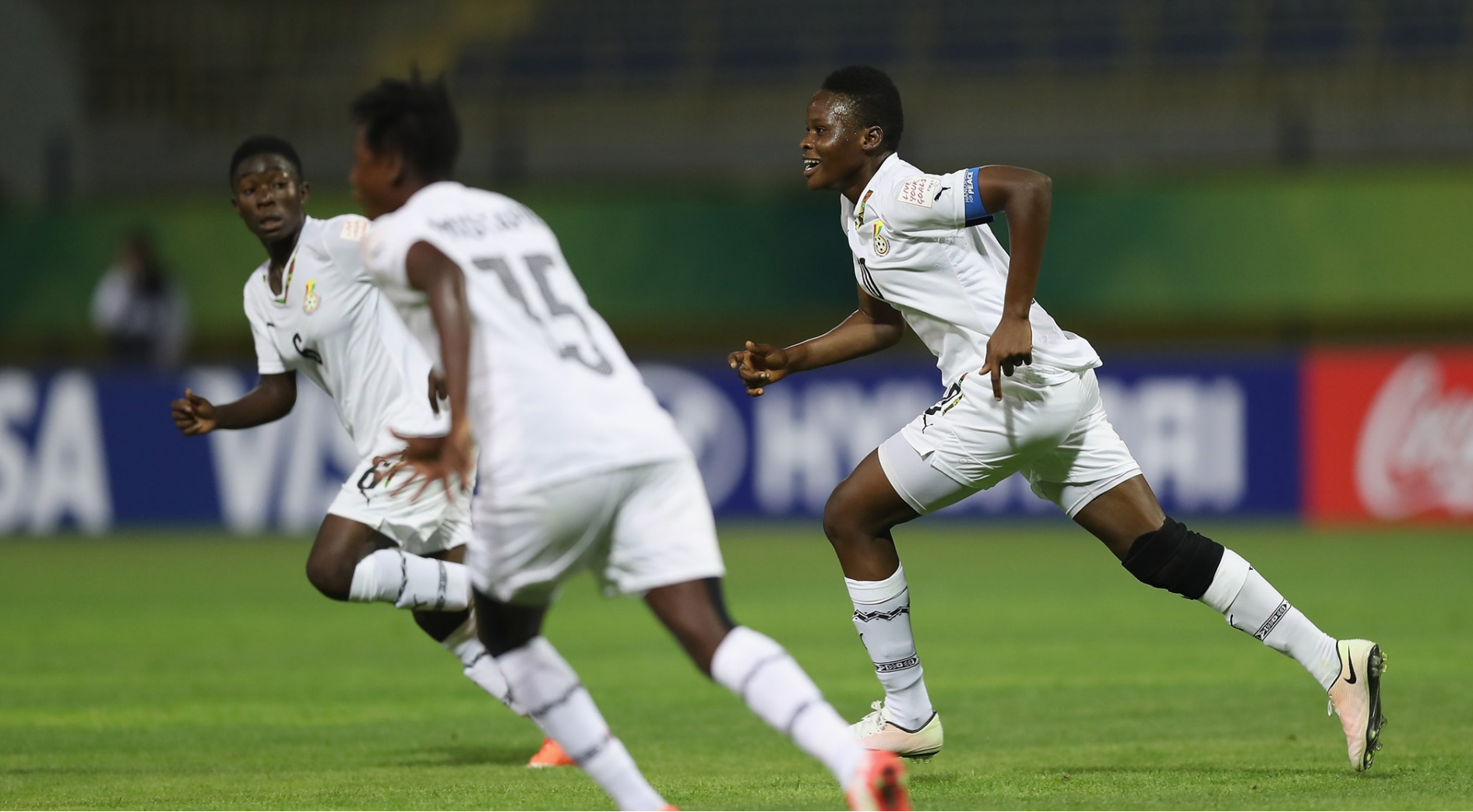 FIFA U17 Women's World Cup: Owusu Ansah scores a worldy to send Black Maidens to quarters