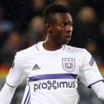 Emmanuel Adjei Sowah returns to Anderlecht training injury recovery