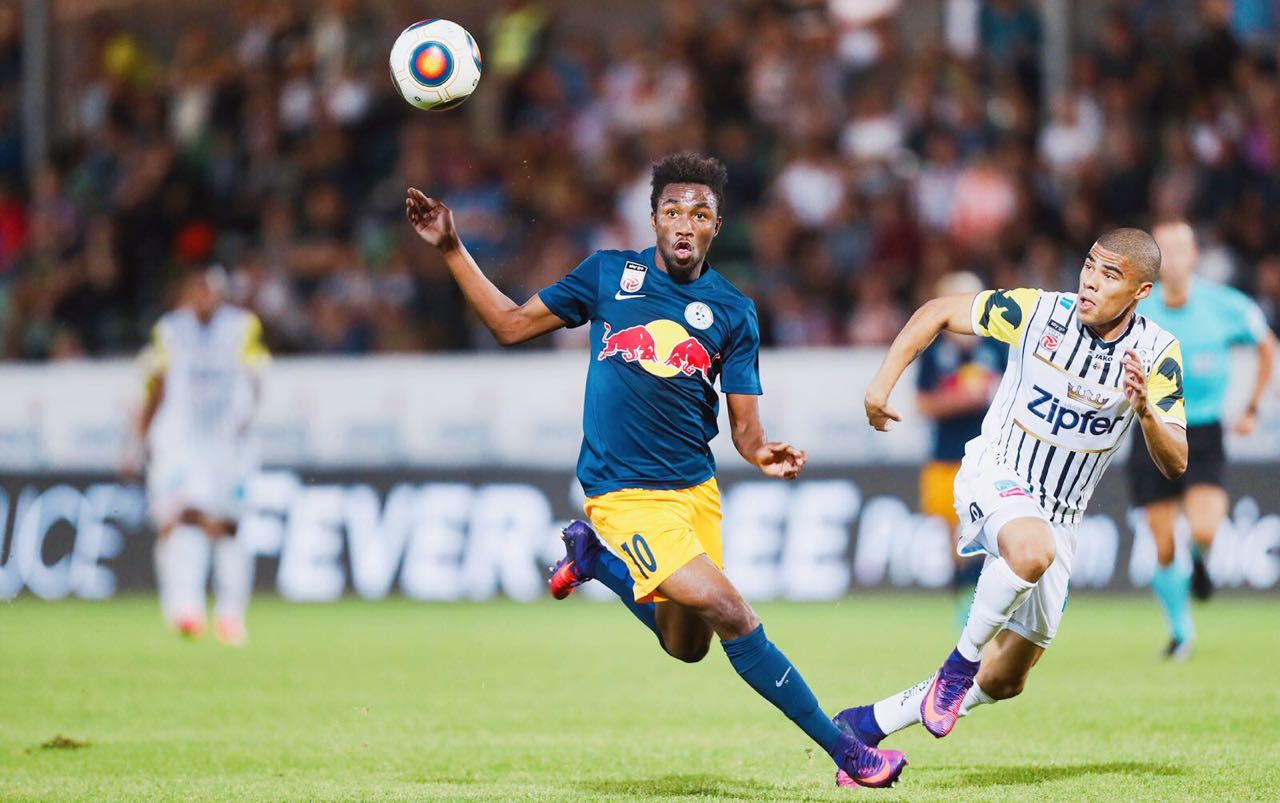 VIDEO: Watch Samuel Tetteh's brace for FC Liefering against LASK Link