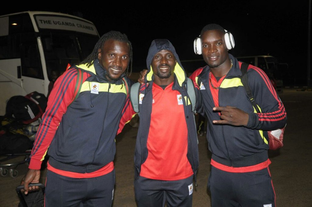 PHOTOS: Uganda leave for Ghana 2018 World Cup qualifier via Lome