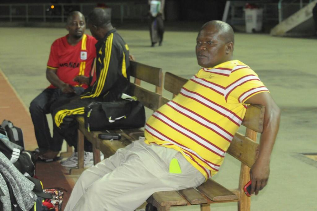 Uganda training in Lome last night.