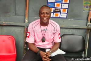 Ex-Hearts defender Acquah Harrison urges clubs to confirm coach Yaw Preko on a permanent basis