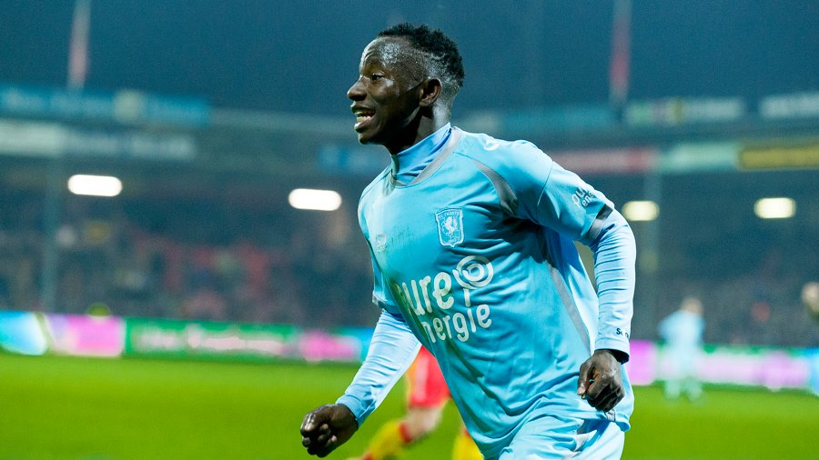 Ghana youth ace Yaw Yeboah scores fabulous finish for FC Twente in Holland