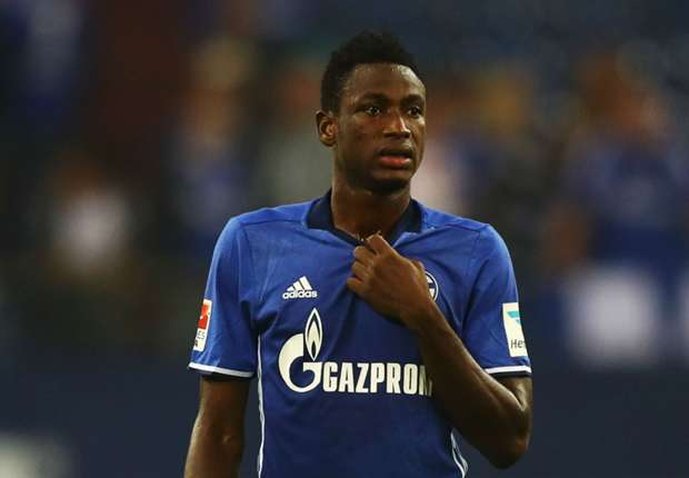 Ghana's Baba Rahman scores an own-goal in Schalke 04 German Cup win