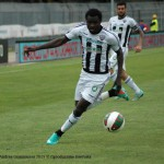 Ghanaian midfielder Bright Addae red carded in Italian league match