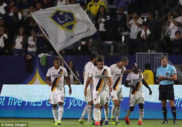 Video: Watch Ghanaian ace Ema Boateng scoring two Messi-like classic goals in LA Galaxy win