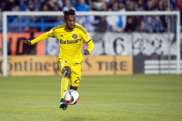 VIDEO: Harrison Afful claims Columbus Crew revved up for Vancouver Whitecaps in MLS