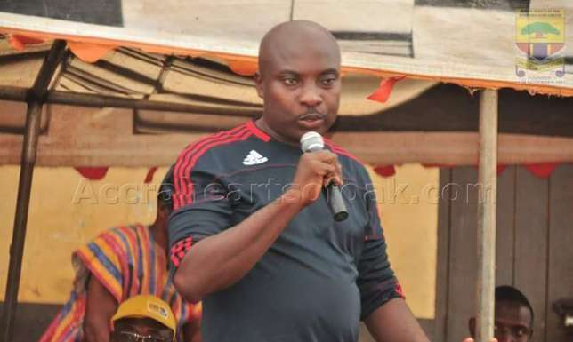 Samuel Nii Noi will be in charge of Dwarfs game- Hearts PRO clarifies on Laryea Kingston appointment