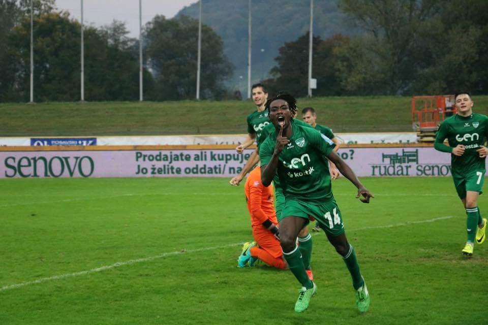 Ghanaian teenager Arafat Ibrahim opens scoring account with NK Krsko