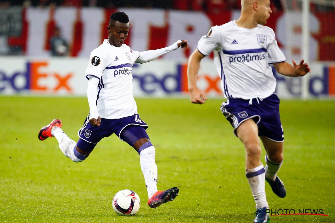 Europa League: Talented kid Ebenezer Sowah set to start for Anderlecht against Saint-Etienne