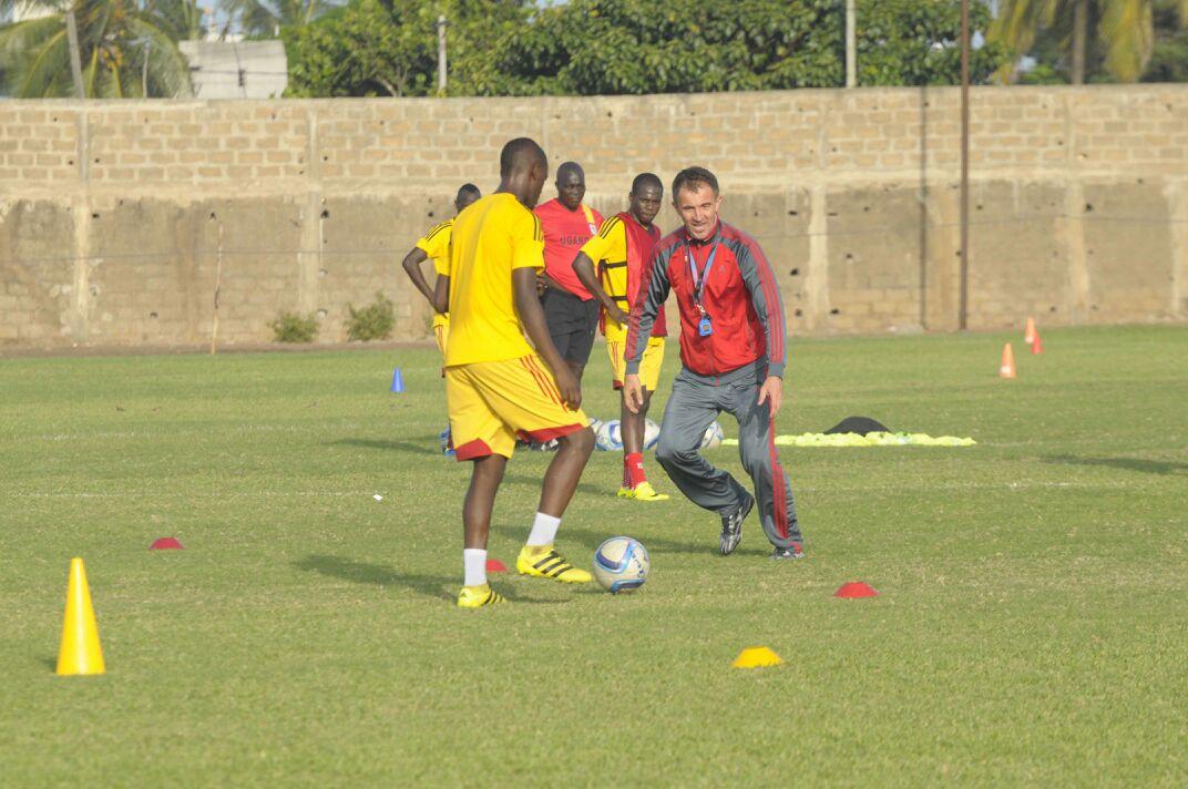 PHOTOS: Uganda end training camp in Lome ahead of Ghana clash