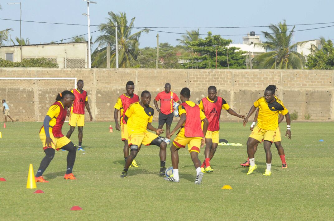 PHOTOS: Uganda end training camp in Lome ahead of Ghana ...