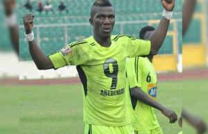Bechem United ready to sell striker Abednego Tetteh to 'less serious' Hearts