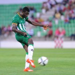Powerful midfielder Alhassan Wakaso determined to knuckle down starting place in the Black Stars