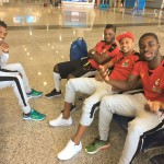 Photos: Black Stars arrive in Egypt ahead of crunch 2018 FIFA World Cup qualifiers