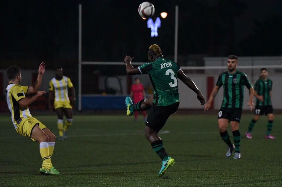 Ghana's Rahim Ayew stunner helps FC Europa thump Lions Gibraltar