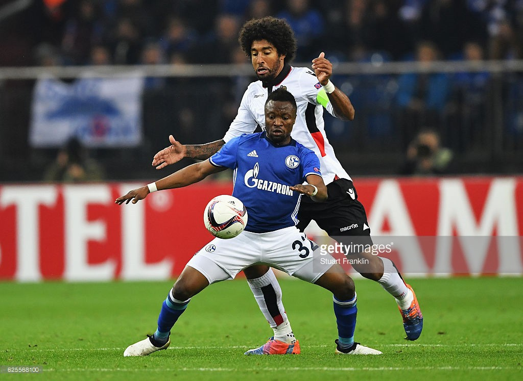 VIDEO: Impressive Bernard Tekpetey wins penalty for Schalke 04 in Europa League triumph over Nice