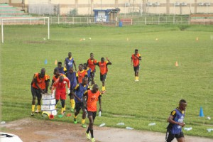 Ghana's 2017 AFCON opponents Uganda endure heavy rains as Cranes steam up for tournament