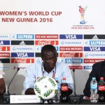Mas-Ud Dramani happy with Black Princesses despite early elimination at FIFA U20 WWCup